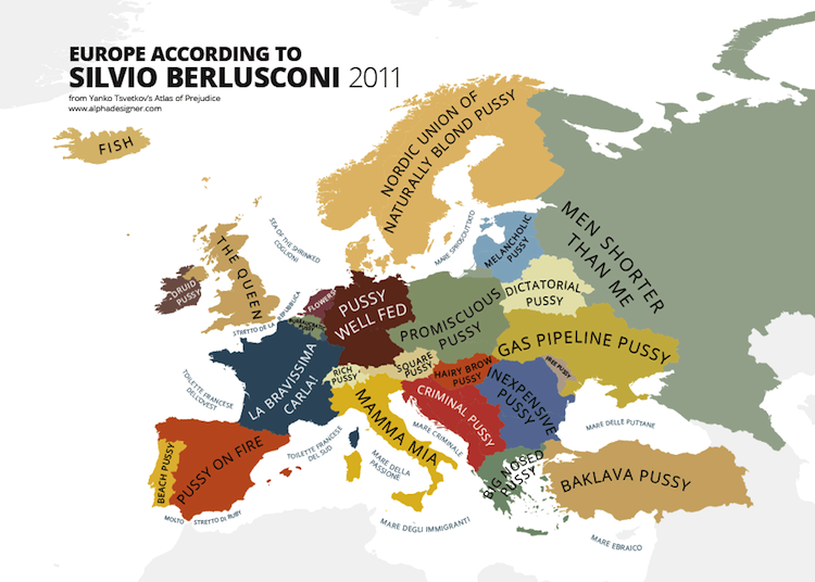 Maps Of Prejudice Stereotypes Without Borders Magzine