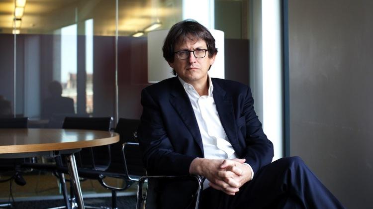 Alan Rusbriger, direttore di The Guardian
