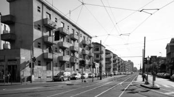 Via Giambellino da piazza Tirana