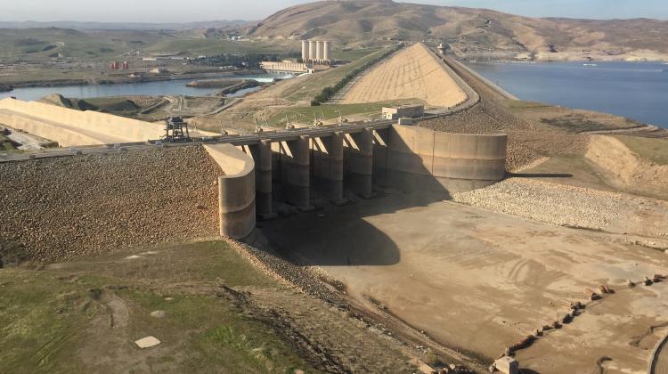 La diga di Mosul, in Iraq
