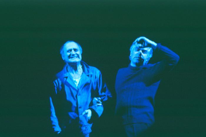 © Luigi Ciminaghi/Piccolo Teatro di Milano – Teatro d'Europa  Renato De Carmine e Giorgio Strehler