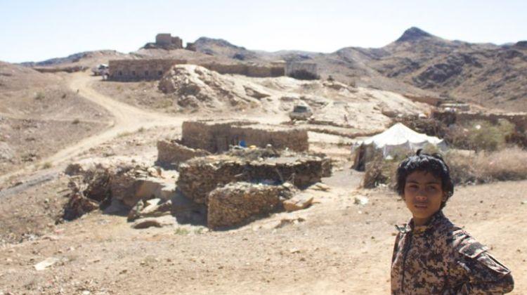 Il villaggio di al Ghayil in Yemen. Foto di Iona Craig, Yemen, 2017. Fonte: Pulitzercenter.org