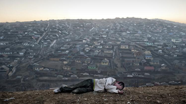 Environmental migrants: the last illusion. Ulaan Baator, Mongolia.