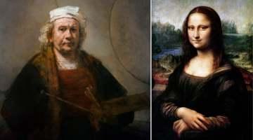 leonardo vs rembrandt