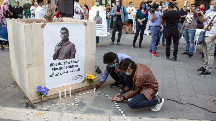 Manifestazione Adnan (Ilenia Marchese)